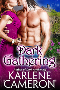Dark Gathering, by author Karlene Cameron is ow available in paperback and digital format.