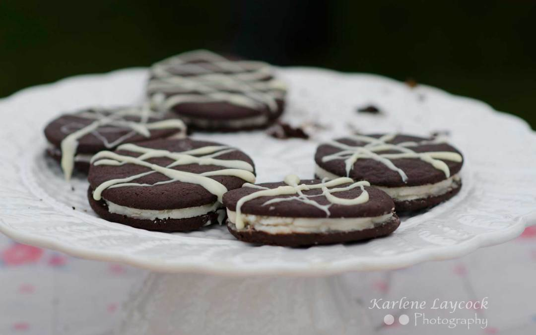 Photograph of Homemade Oreo Cookies taken at a Local Bake Off Event