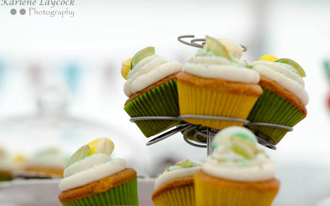 Image of Lemon and Lime Cupcakes taken at a Local Bake Off Competition