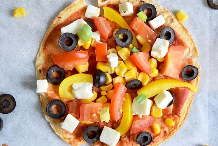 Wrap pizza - karlijnskitchen.com