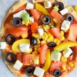Low FODMAP wrap pizza – Healthy Fastfood Week