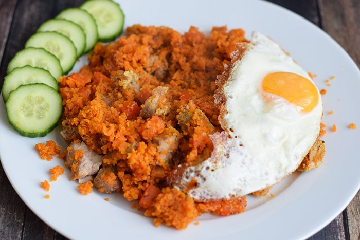 nasi van wortelrijst - karlijnskitchen.com