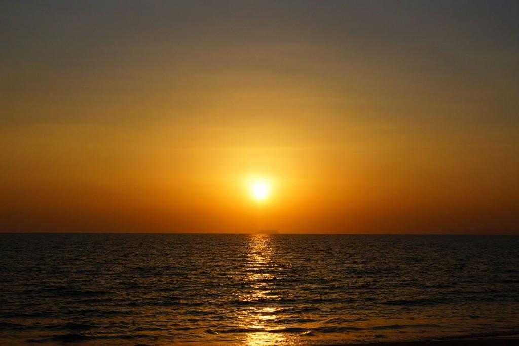 Ko Lanta zonsondergang