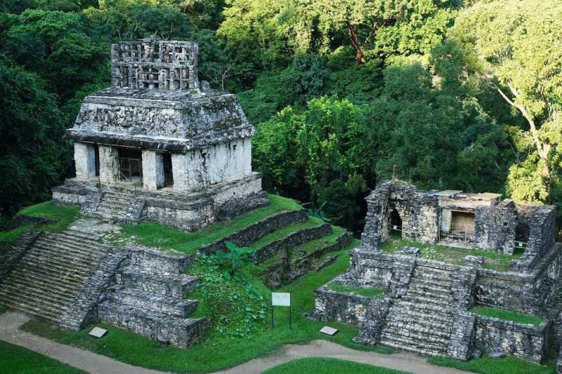 Maya tempel Palenque Mexico