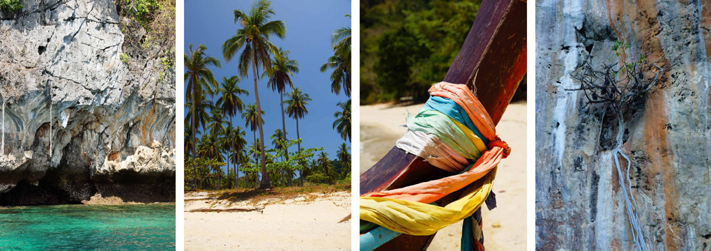 Four islands Thailand