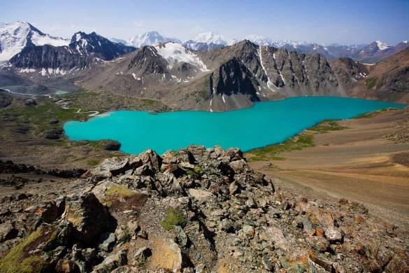 Kirgizie trekking