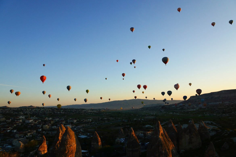 ballonvaart-Cappadocie