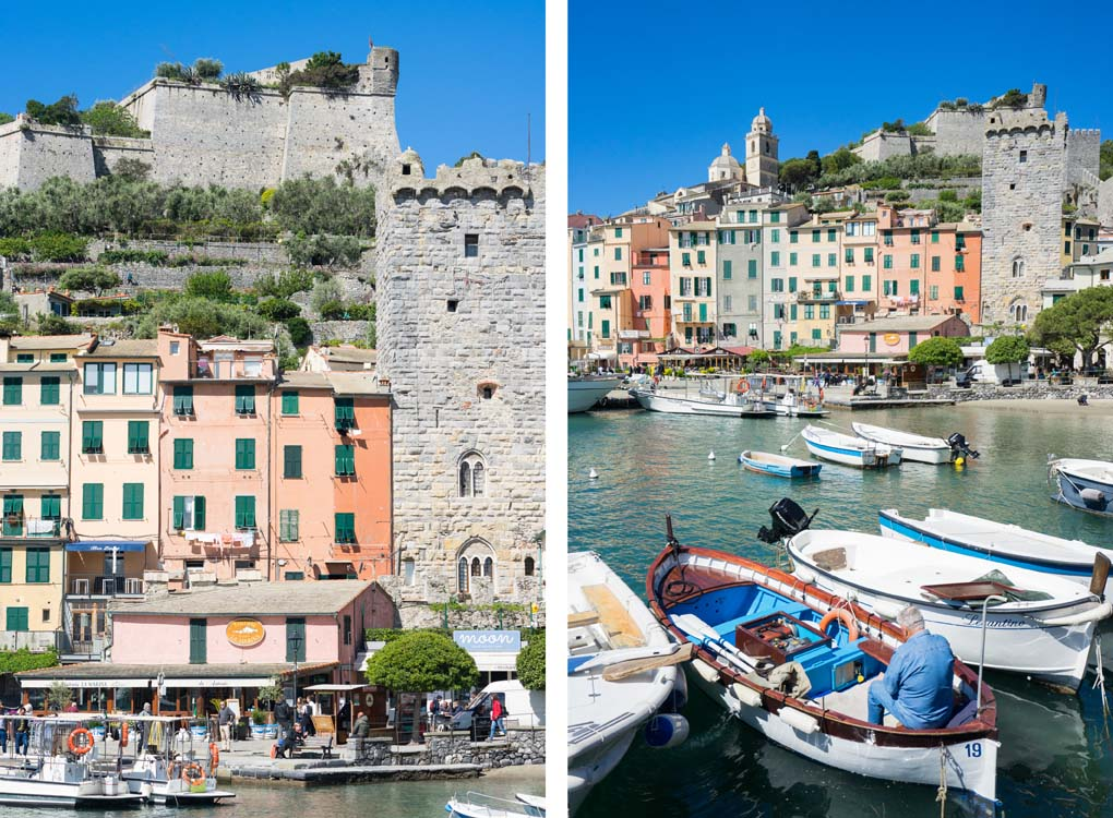 haven Portovenere Italië