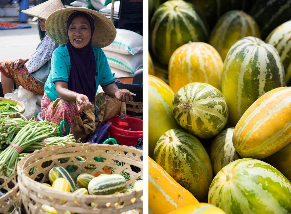 Kuta Lombok markt