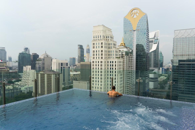 hotel Bangkok rooftop pool