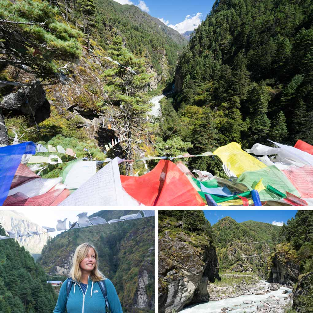 Everest basecamp trek Nepal