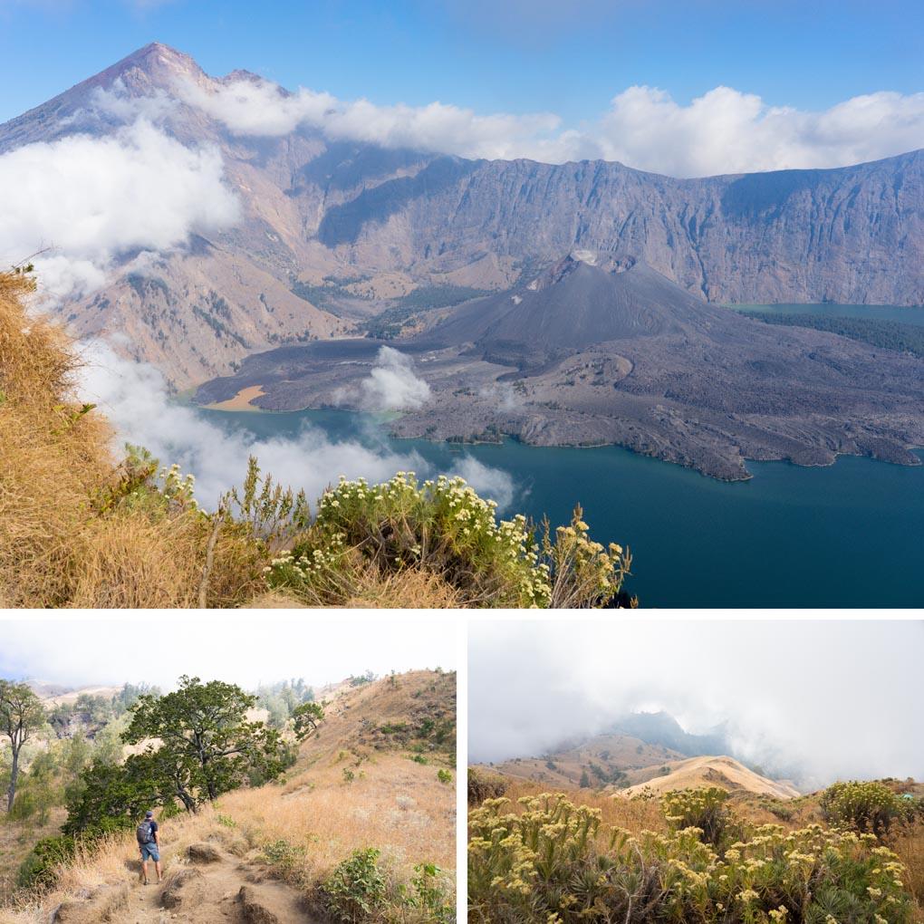 kraterrand Rinjani Lombok