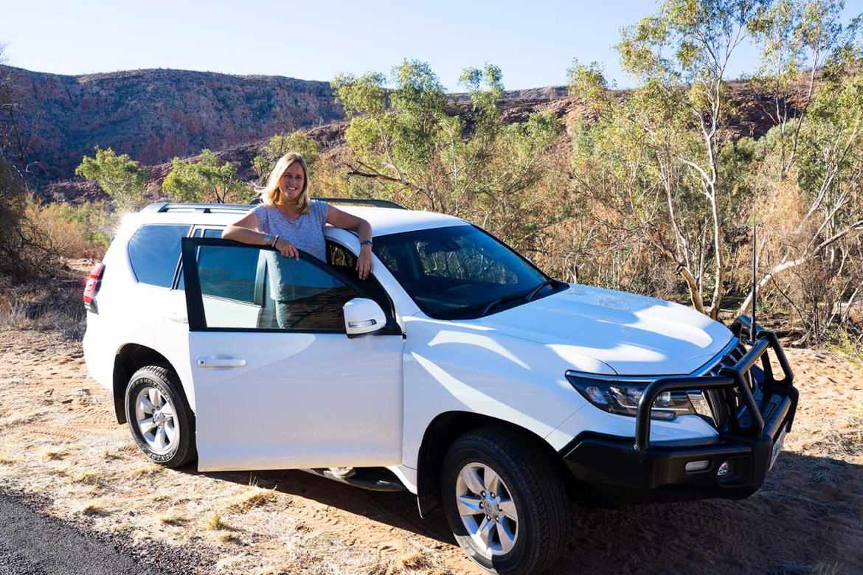 4WD auto wit Australië