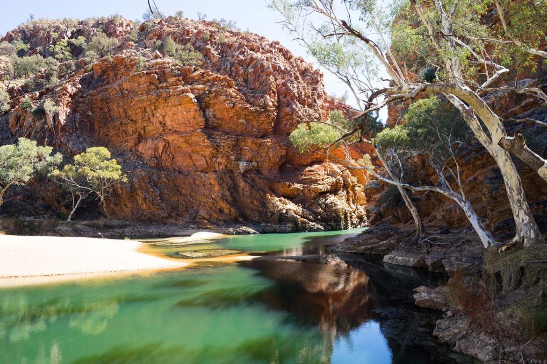 groene waterpoel Australië