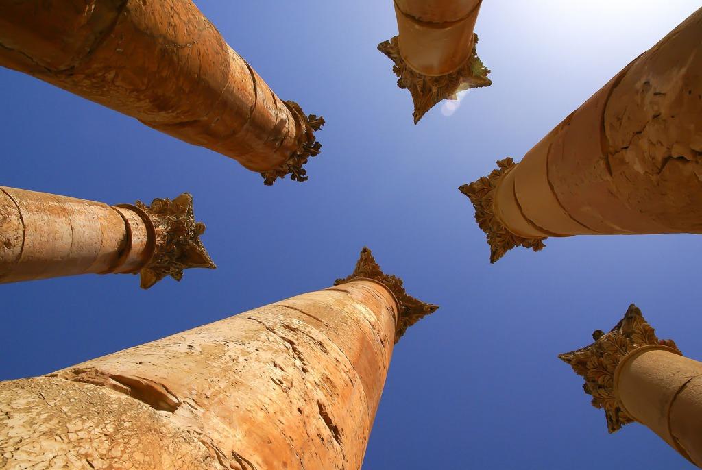 oude Romeinse stad Jerash