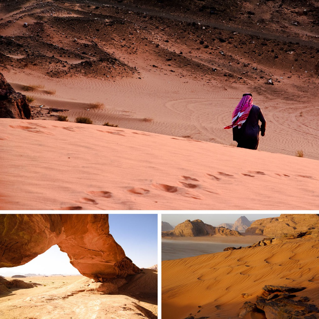 Wadi Rum woestijn Jordanië