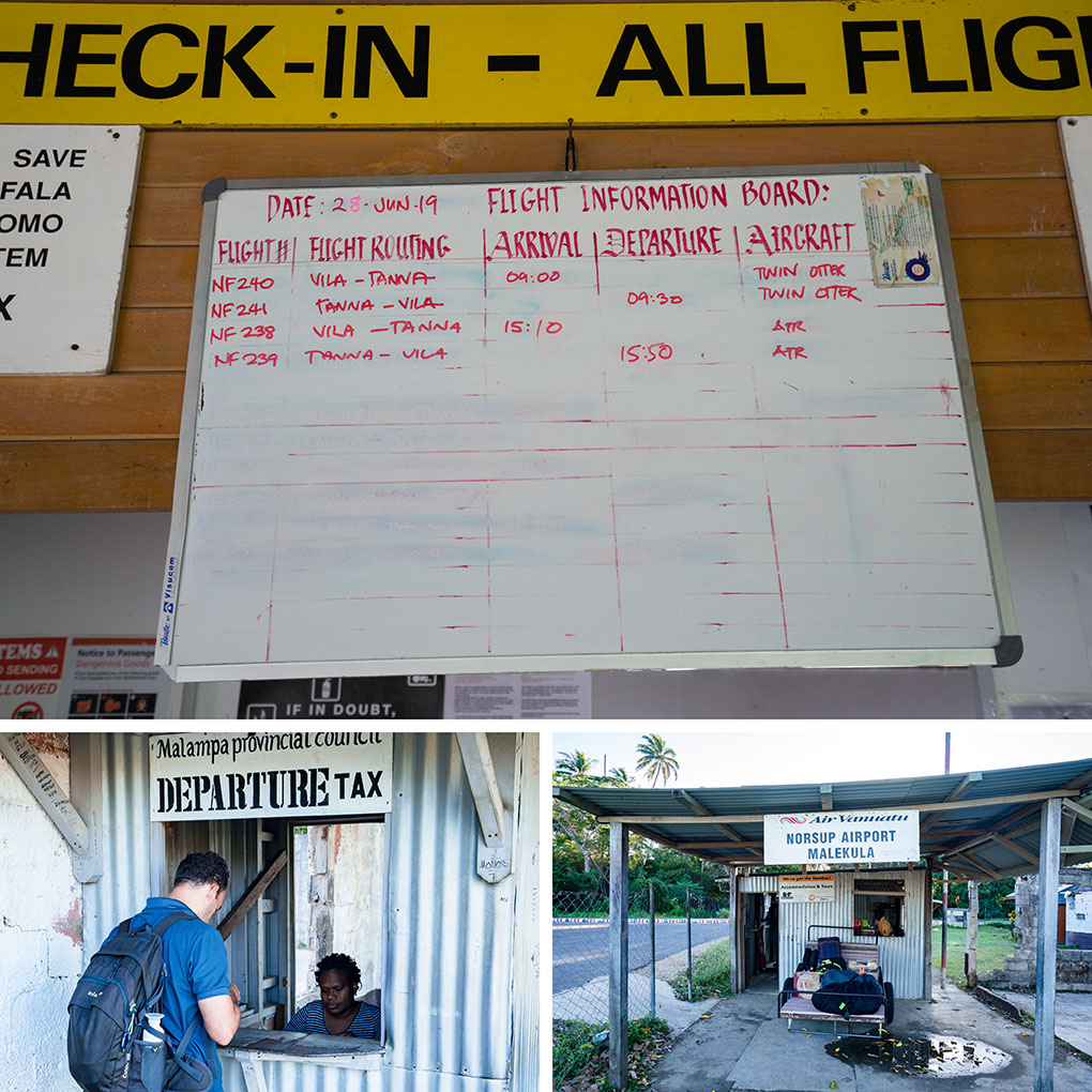 binnenlandse vlucht Vanuatu