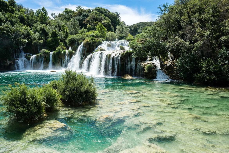 watervallen Krka National Park