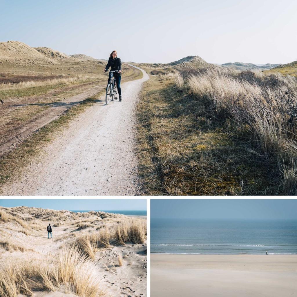 fietsen op Vlieland