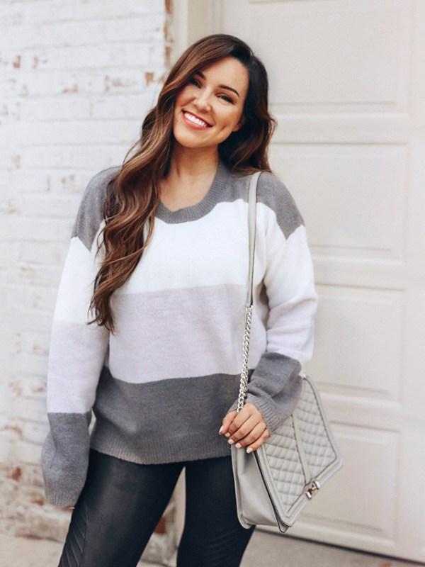 Trend I'm Loving: Colorblock Sweaters