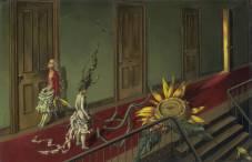 Eine Kleine Nachtmusik, Dorothea Tanning (1943)