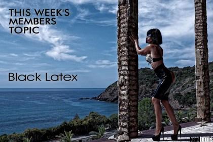 Black Latex For Members © Karl Louis