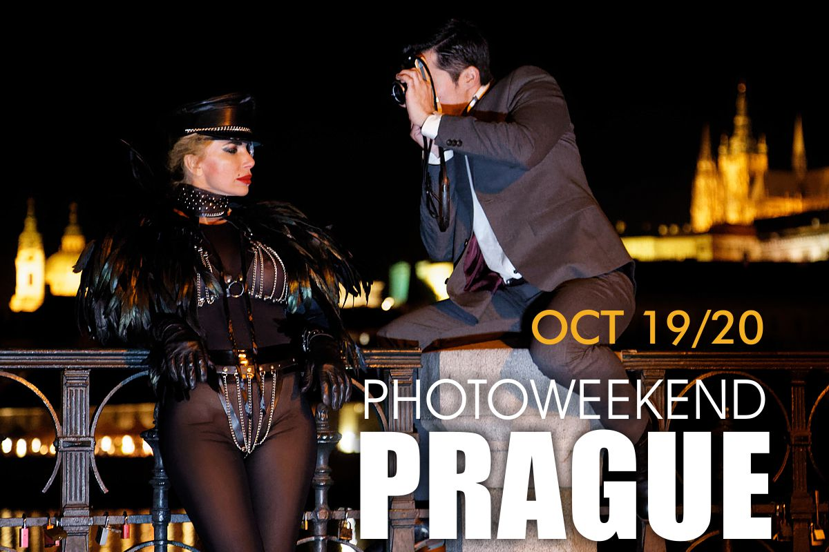 Learn how to take great pictures at Karl Louis Workshop in Prague!
