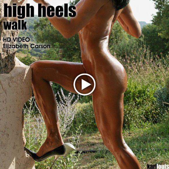 Elizabeth Carson - High Heels Walk