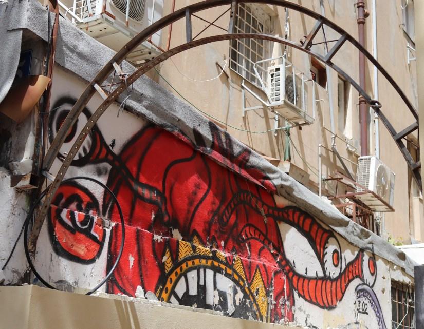 More graffiti in the yemenite quarter