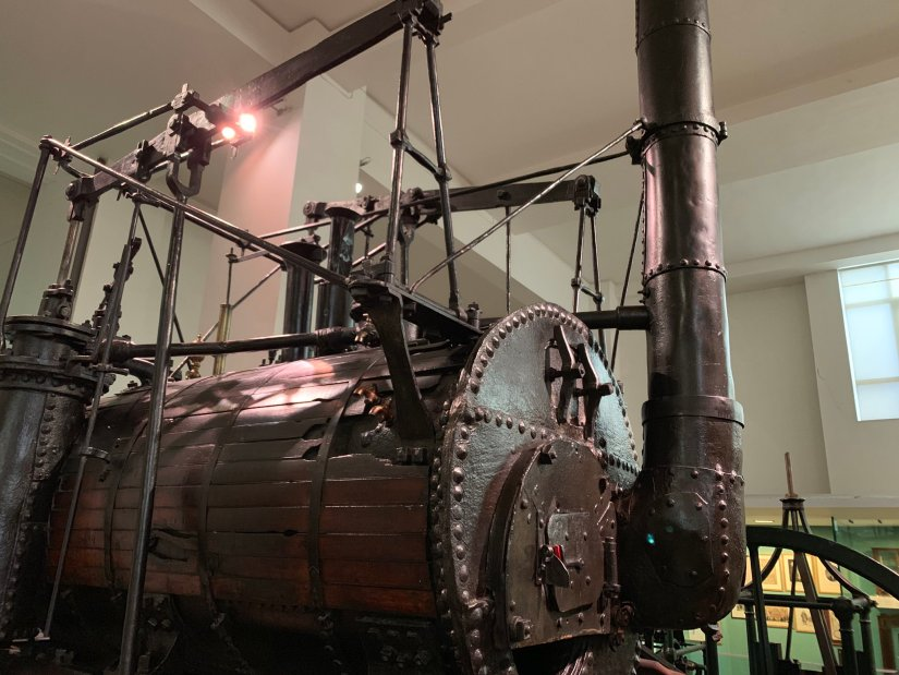 Puffing Billy at the Science Museum