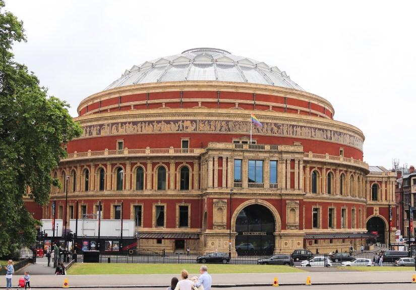 The Royal Albert Hall from Kensington Gardens