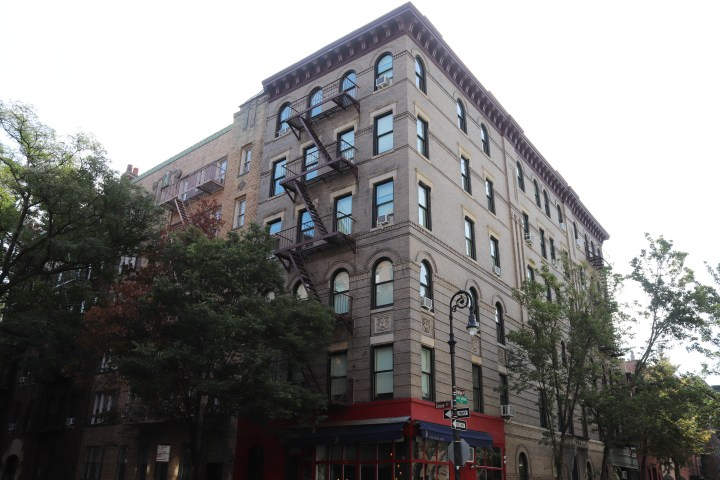 The building where Monica and Rachel lived in the TV series Friends.