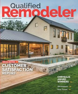 Qualfied Remodeler Magazine Cover
