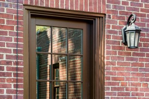 Window to Door Exterior Renovation