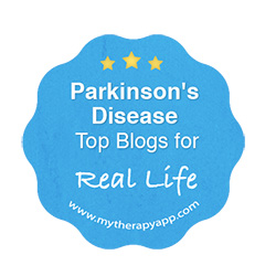 MyTherapy Top Parkinsons Blogs Real Life logo 2019