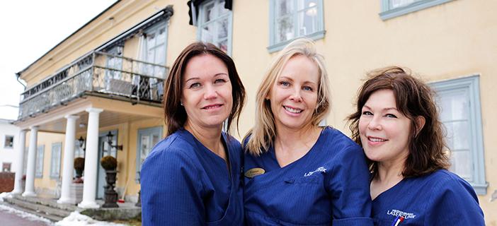Kliniken i en artikel om kvinnligt företagande i KH-Aktuellt