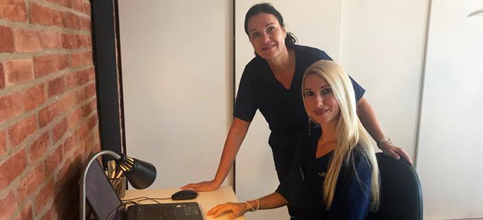 Idag 4 september gör vår nya hudläkare sin första arbetsdag hos oss!