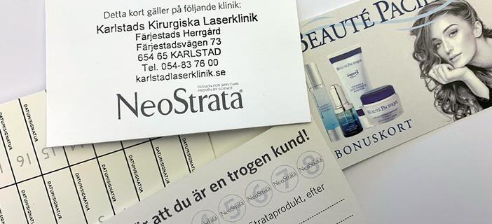 Nya bonuskort från Neostrata och Beauté Pacifique!