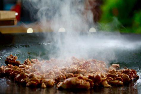 chicken chow - stekhäll