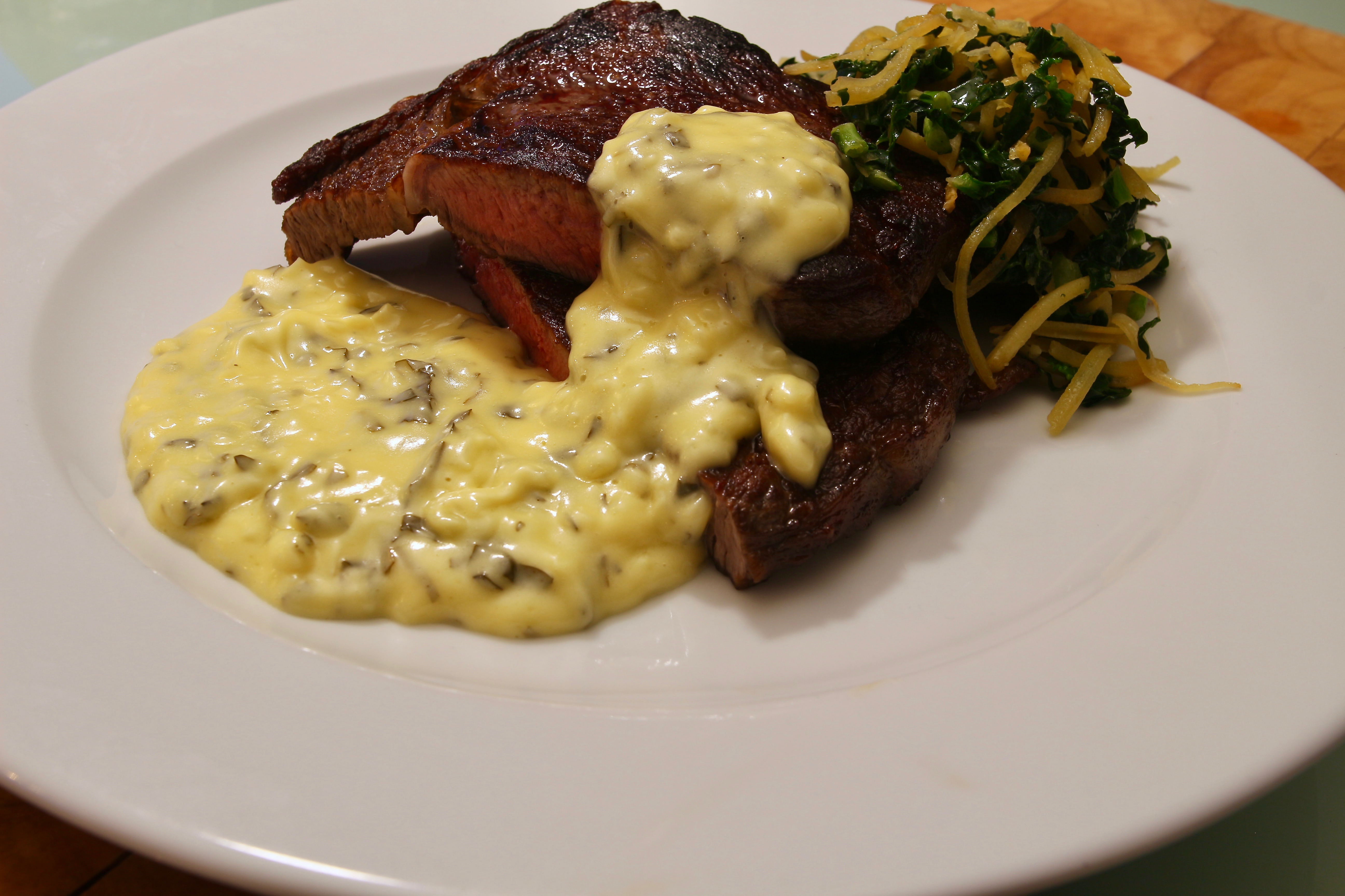 Béarnaise i Thermomix