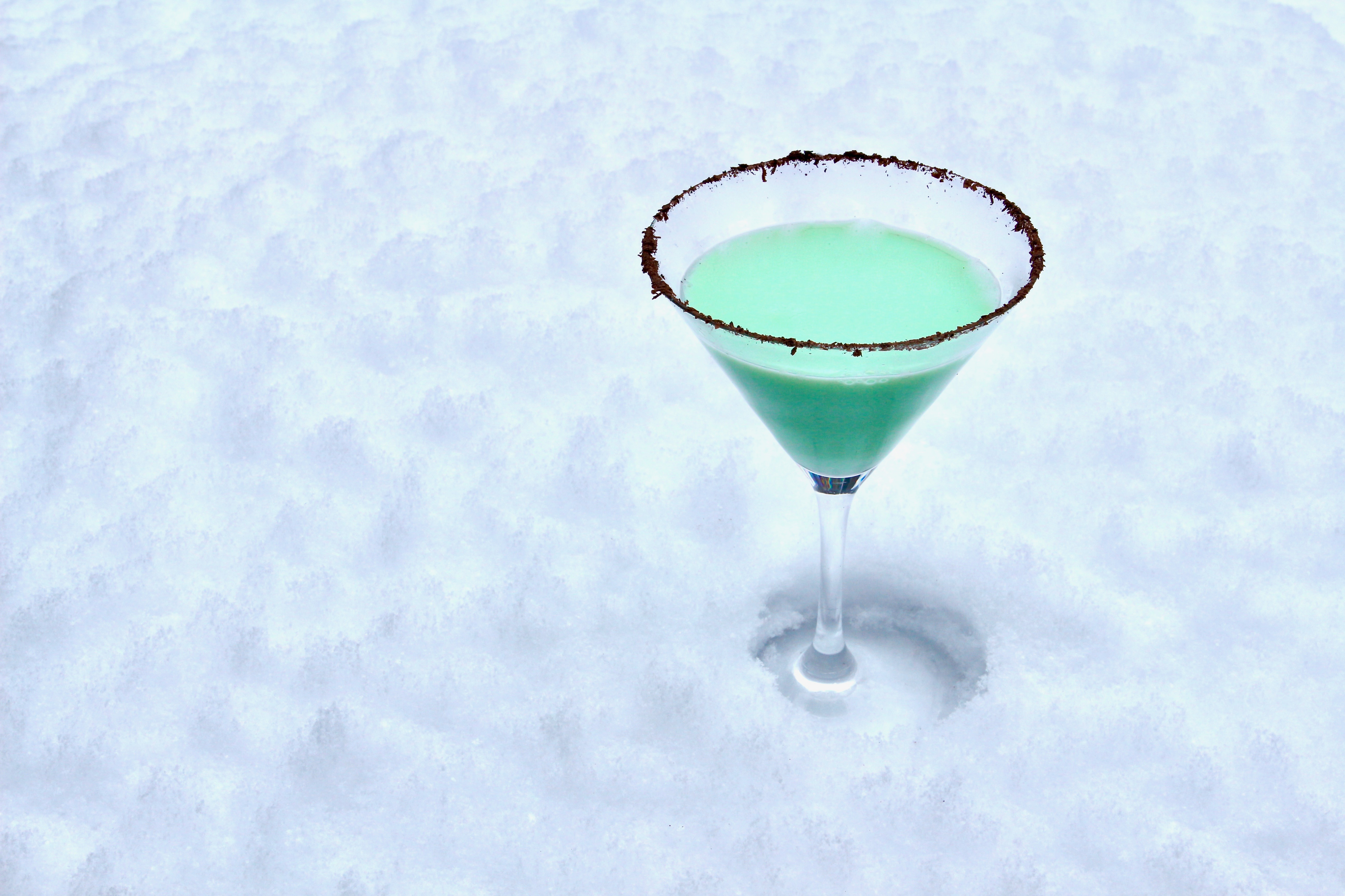 Grasshopper cocktail - fredagsdrinken
