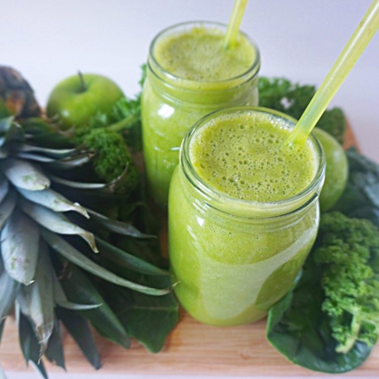 Green-smoothie-fat-burning