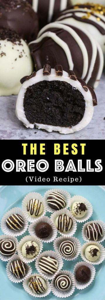 Chocolate Covered Oreo Truffles