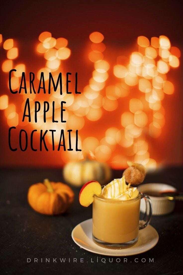 Bailey's Caramel Apple Cocktail