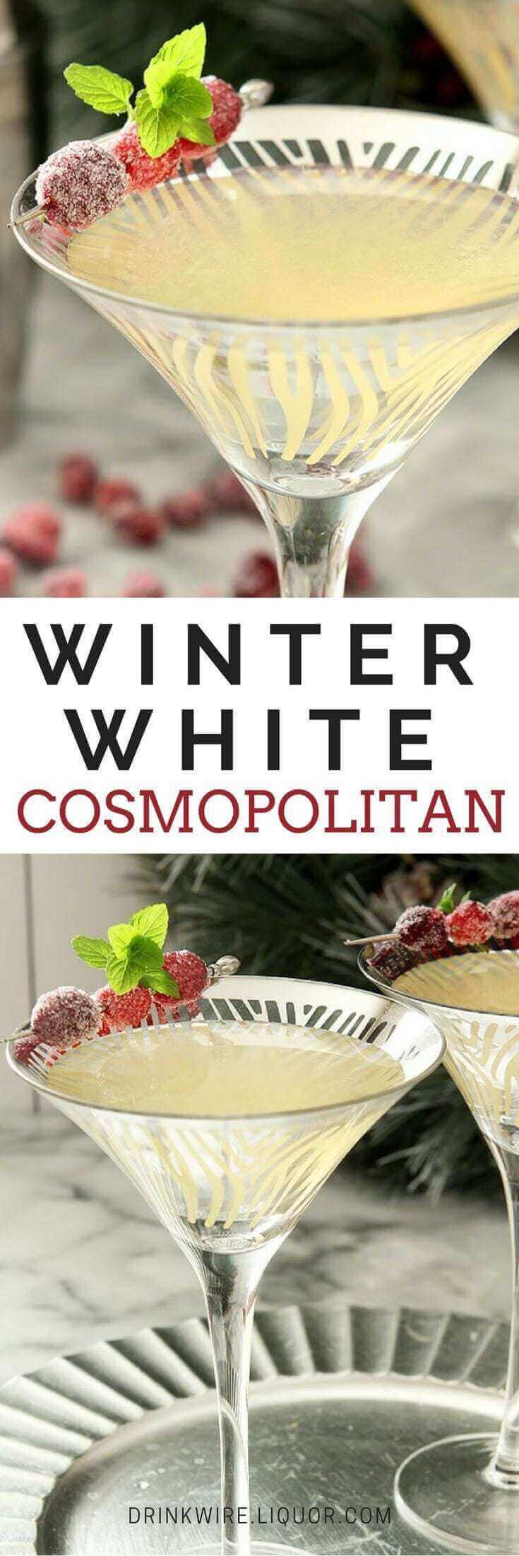 Winter White Cosmopolitan.