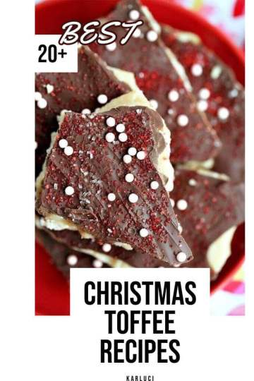 20 Easy Christmas toffee recipes - Holiday Toffe(1)