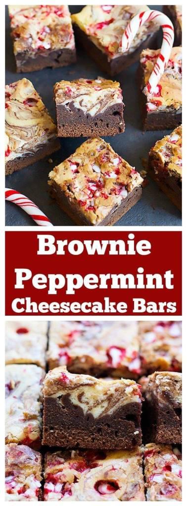 Brownie Peppermint Cheesecake Bars(1)