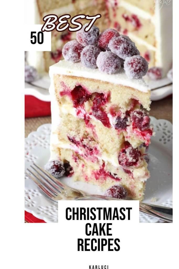 Christmast Cake Recipes