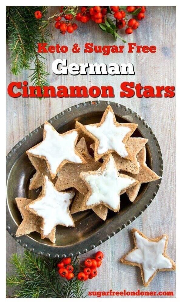German Cinnamon Stars