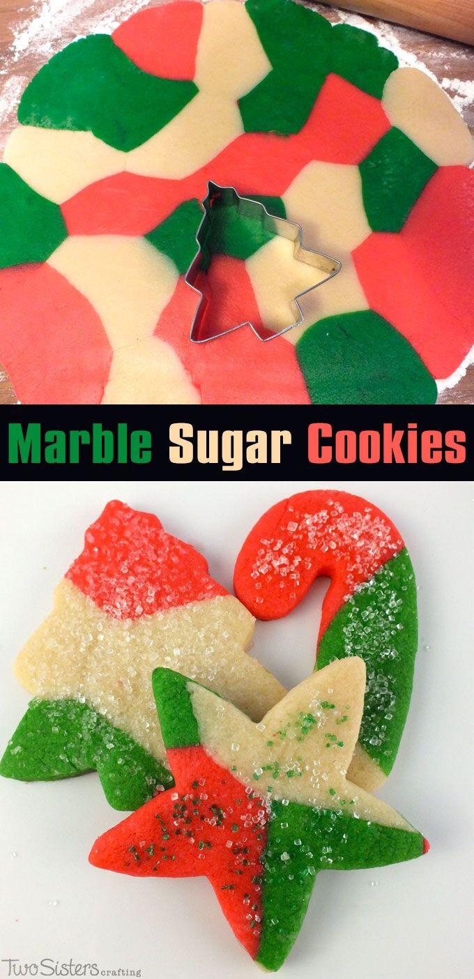 Marble-Sugar-Cookies